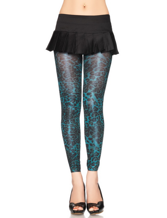 2012 en guzel mavi leopar desenli farkli tayt modelleri Yeni Trend 2012 En Güzel Farklı Tayt Modelleri 7