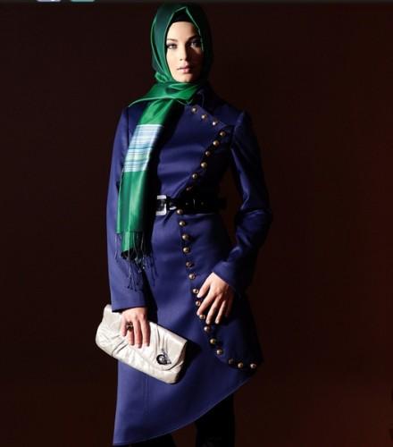 2012 farkli degisik pardesu modelleri En Güzel Tesettür Giyim Modelleri 1