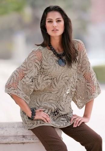 2012 son moda file kazak cesitleri Yeni Sezon Örgü File Kazaklar Bluzlar 17