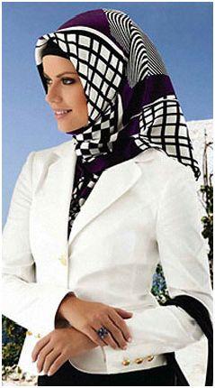 2012 yeni sezon esarp modelleri Armine Yeni Trend Eşarp Modelleri 1