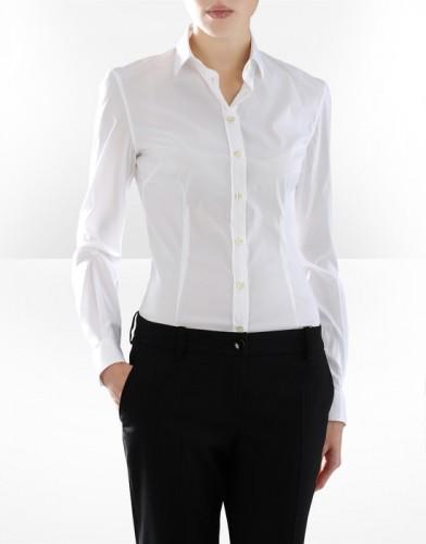 bayan beyaz gomlek ve siyah pantolon kombinasyonlari Yeni Sezon Dolce Gabbana Kreasyonu 30