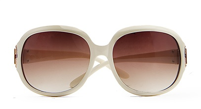 beyaz cerceveli gunes gozlugu modelleri Mango En Güzel Bayan Güneş Gözlükleri 17