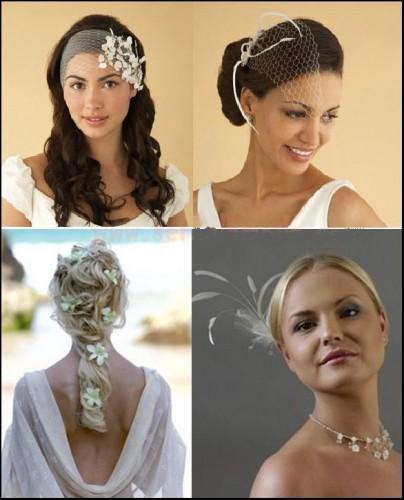degisik aksesuarli modern gelin saci modelleri Yeni Trend Farklı Gelin Başı Modelleri 19