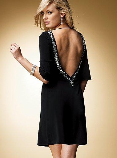 derin sirt dekolteli mini gece elbiseleri En Güzel Dekolte Abiye Elbise Modelleri 8