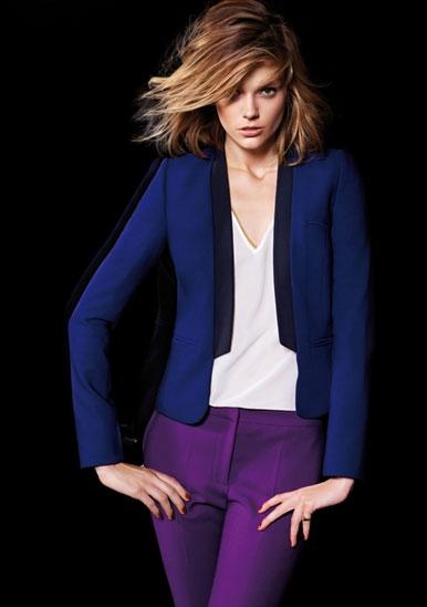 en guzel bayan ceket ve renkli pantolon kombinleri Rengarenk Yeni Sezon Koton Koleksiyonu 6