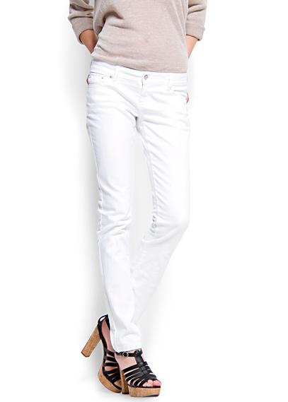 en guzel beyaz jean modelleri ornekleri Mango Yeni Sezon Jean Modelleri 4