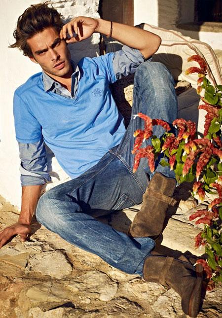 en guzel mavi erkek kreasyon modelleri 2012 Yeni Sezon Mavi Jeans Kreasyonu 7