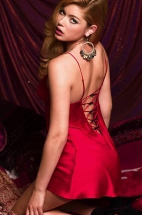 farkli degisik kirmizi saten fantazi gecelik modeli Trend Kırmızı Fantazi Gecelik Modelleri 7