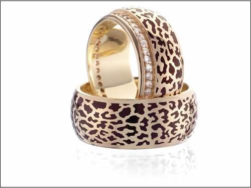farkli leopar desenli altinbas yuzukler Altınbaş En Güzel Takı Modelleri 10