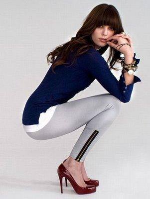 fermuar suslemeli gri gtayt modelleri ornekeleri Yeni Trend 2012 En Güzel Farklı Tayt Modelleri 14