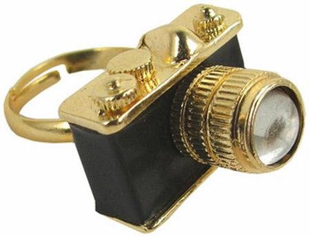 fotograf makinasi sekilli bayan yuzukleri İlginç Farklı Değişik Yüzük Modelleri 5