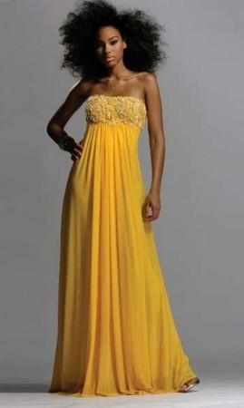 gogsu danteli uzun maksi elbise modelleri Yazlık Trend Straplez Elbise Modelleri 21