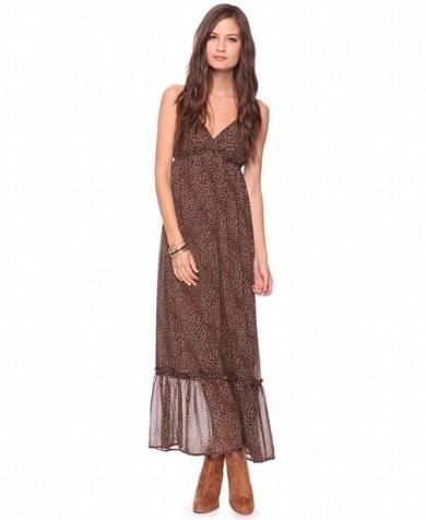 gogus dekolteli sifon elbise modelleri Yeni Sezon Yazlık Şifon Elbise Modelleri 24