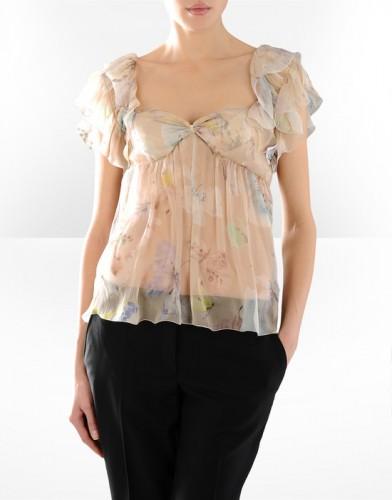 icekli sifon bayan bluz modelleri Yeni Sezon Dolce Gabbana Kreasyonu 3
