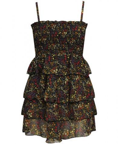 icekli yazlik ip askili sifon elbise modelleri Yeni Sezon Yazlık Şifon Elbise Modelleri 17