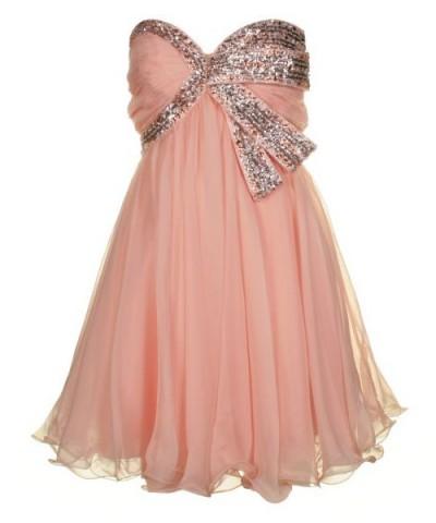 ifon abiye pullu elbise modelleri Yeni Sezon Yazlık Şifon Elbise Modelleri 10