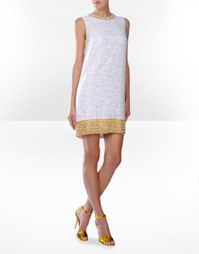 inci suslemeli beyaz askili elbise modelleri Yeni Sezon Dolce Gabbana Kreasyonu 19