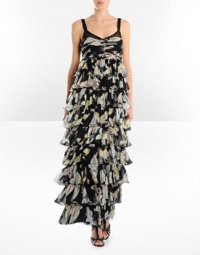 ip askili maksi sifon elbise modelleri Yeni Sezon Dolce Gabbana Kreasyonu 20