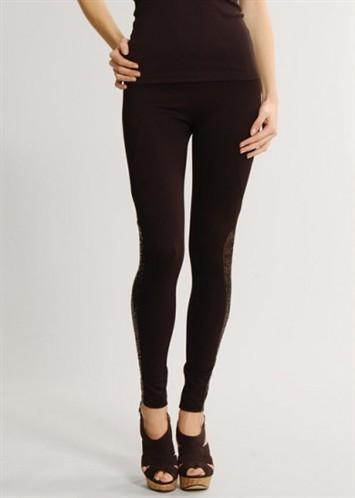 kahverengi dantel detayli uzun bilekte 2012 tayt modelleri Yeni Trend 2012 En Güzel Farklı Tayt Modelleri 4