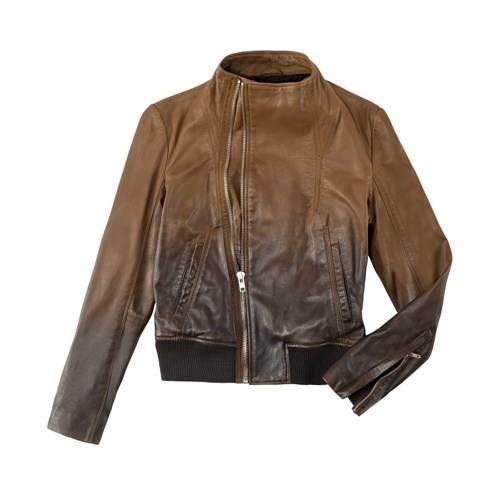 kahverengi zara yazlik deri ceket modelleri1 Yeni Sezon Zara Giyim Koleksiyonu 7