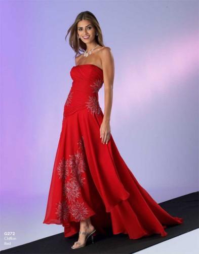kirmizi straplez abiye elbise modelleri Yazlık Trend Straplez Elbise Modelleri 24