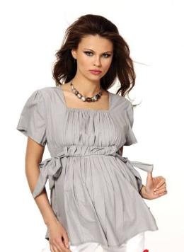 kisa kollu 2012 en guzel hamile t shirt modelleri1 Trend Farklı Hamile T-Shirt Modelleri 1