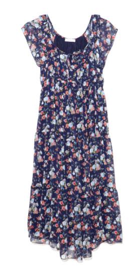 kisa kollu sifon hamile elbise modelleri Lc Waikiki Yeni Sezon Hamile Kıyafetleri 3