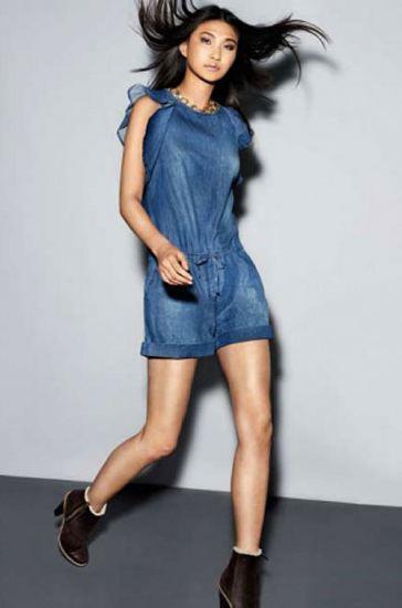 kisa kollu sort jean tulum modelleri Yeni Sezon Jean Tulum Modelleri 5