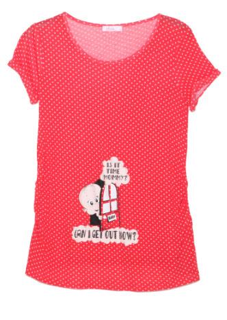 lc waikiki puantiyeli 2012 hamile tisort modelleri Lc Waikiki Yeni Sezon Hamile Kıyafetleri 9