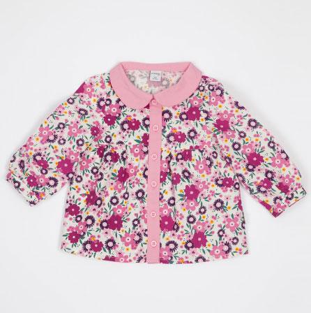 lc wiakiki cicekli ilkbahar kiz cocuk ceket modeli Lc Waikiki Çocuk Kıyafetleri Koleksiyonu 3
