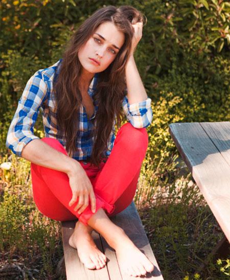lee bayan kirmizi pantolon modeli 2012 Lee İlkbahar Yaz Koleksiyonu 5