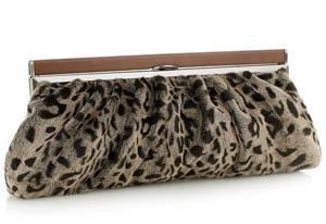leopar desenli suet abiye canta modeli Modern Şık Trend Abiye Çanta Modelleri 11