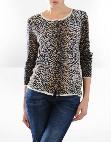leopar desenli uzun kollu bayan bluz modelleri Yeni Sezon Dolce Gabbana Kreasyonu 33