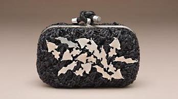 metal islemeli siyah abiye canta ornekleri Modern Şık Trend Abiye Çanta Modelleri 12