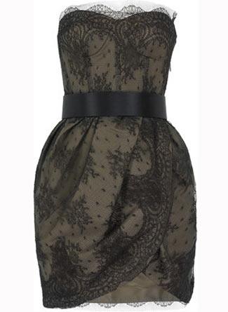 moda trend dantel straplez elbise modelleri Yazlık Trend Straplez Elbise Modelleri 6