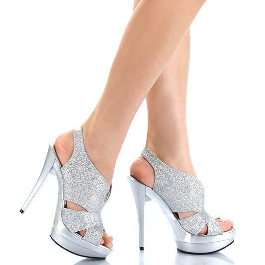 simli platformlu gelinlik ayakkabilari modelleri En Güzel Modern Gelin Ayakkabıları 11