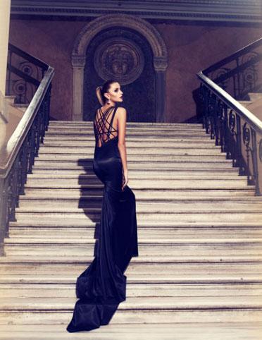 siyah arkasi ipli adil isik abiye elbise modelleri 2012 Adil Işık En Modern Kreasyonları 20