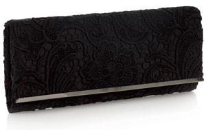 siyah dantel abiye canta ornekleri Modern Şık Trend Abiye Çanta Modelleri 15