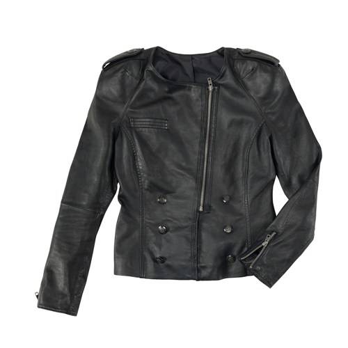 siyah deri yazlik zara bayan ceketleri1 Yeni Sezon Zara Giyim Koleksiyonu 10