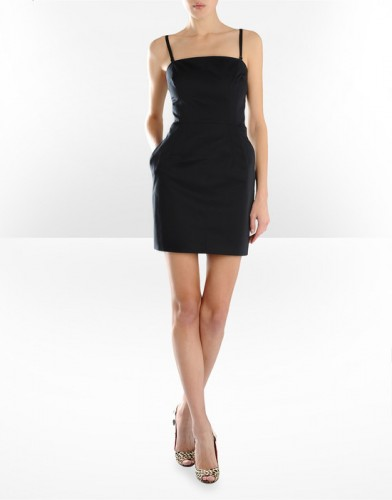 siyah ip askili mini elbise modelleri Yeni Sezon Dolce Gabbana Kreasyonu 36