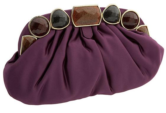 siyah ve kahverengi tasli bordo abiye canta ornegi Modern Şık Trend Abiye Çanta Modelleri 20