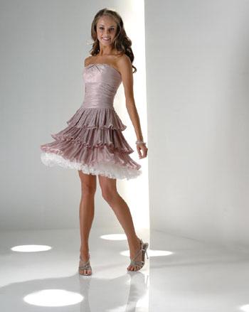 straplez kat kat mini elbise modelleri Yazlık Trend Straplez Elbise Modelleri 11