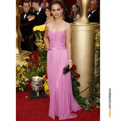 straplez pembe sifon elbise modelleri Yeni Sezon Yazlık Şifon Elbise Modelleri 7