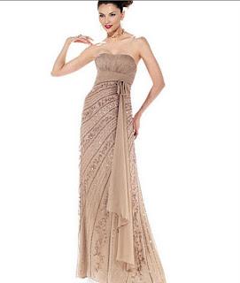 straplez sifon yazlik abiye elbiseler Yeni Sezon Yazlık Şifon Elbise Modelleri 9