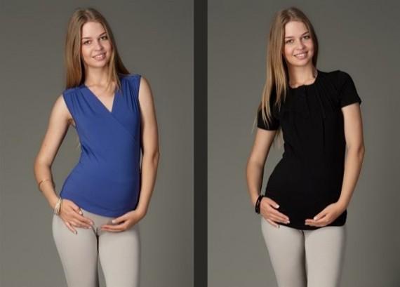 yazlik 2012 trend hamile bluzlari1 Trend Farklı Hamile T-Shirt Modelleri 4