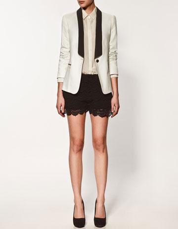 yazlik blazer ceket deri sort modelleri1 Yeni Sezon Zara Giyim Koleksiyonu 12