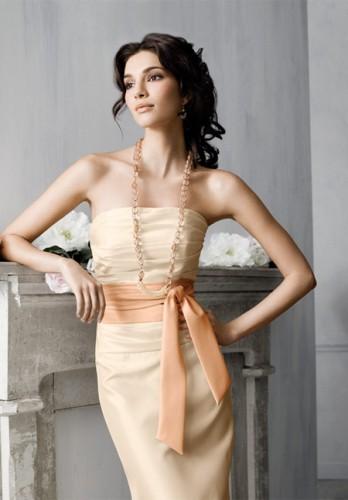yeni trend abiye straplez elbise modelleri Yazlık Trend Straplez Elbise Modelleri 15