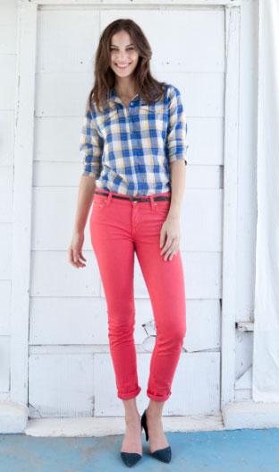 yeni trend lee pembe bayan pantolon modeli 2012 Lee İlkbahar Yaz Koleksiyonu 20