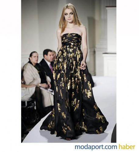yeni trend straplez uzun elbiseler Yazlık Trend Straplez Elbise Modelleri 16