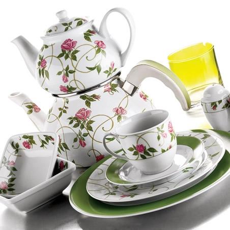 2012 kutahya 42 parca kahvalti takimi modeli Yeni Sezon Kütahya Kahvaltı Takımları 1